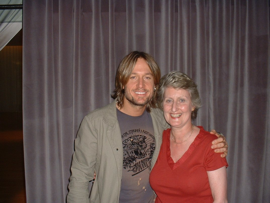 Jenny pictured here with Keith Urban